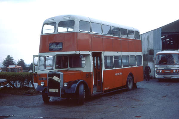 1957 Leyland Titan PD3-4 with Metro-Cammell H31-35F body