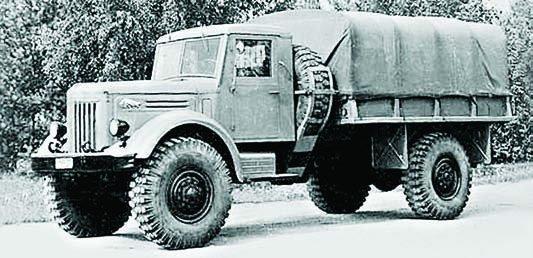 1957 MAZ-502, 4x4