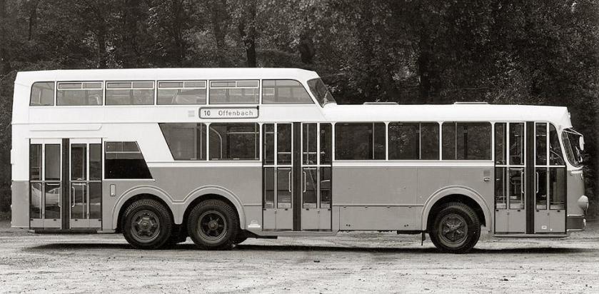 1958 Büssing 52 macchi