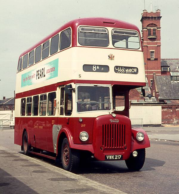1958 Daimler CVG6 with Metro-Cammell H33-27R body