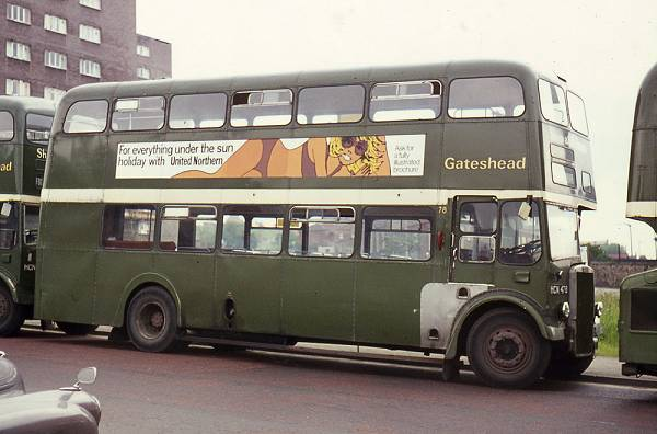 1958 Leyland Titan PD3-4 with Metro-Cammell Orion H41-32R bodywork
