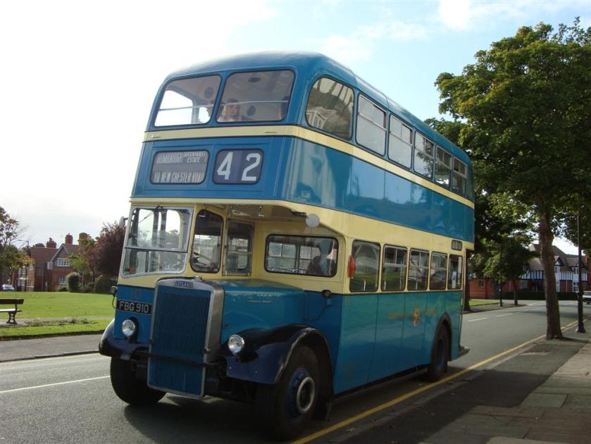 1958 Leyland with Massey Body fbg-910