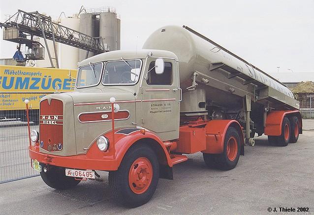 1958 M.A.N. 750 TL1 Silosattelzug