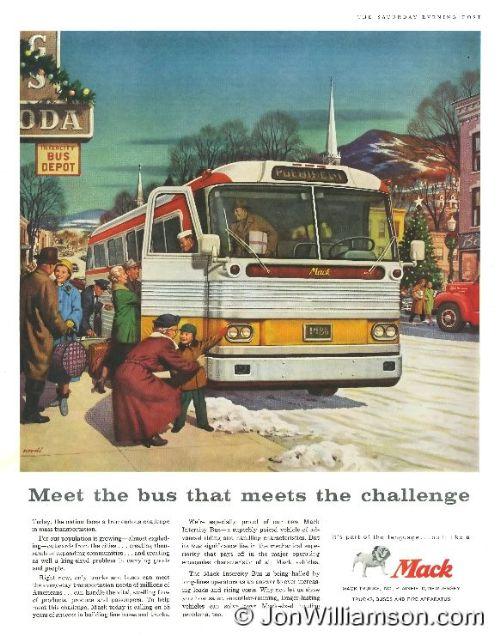 1958 Mack Bus - 19581220 Post