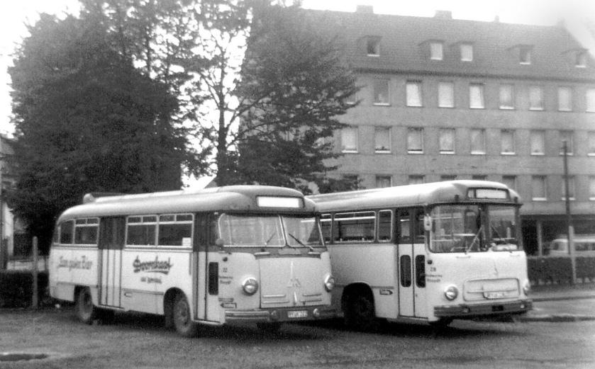 1958 Magirus Deutz buses