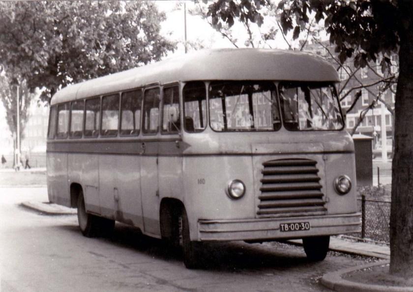 1958 Magirus Deutz Hoogeveen De Jong 160