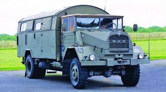 1958 MAN 630L2A, 4x4