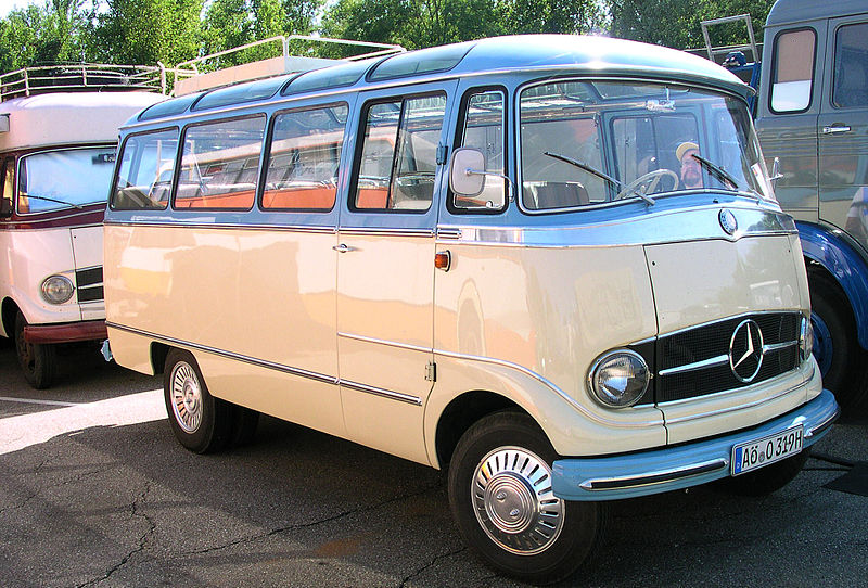 1958 Mercedes-Benz L319 Panorama-Bus