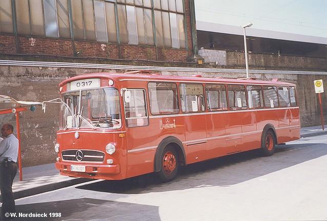 1958 Mercedes Benz O 317 K Bahnbus