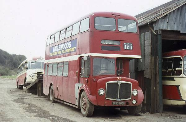 1959 AEC Regent V 2LD3RA built in 1959 with Metro-Cammell H39-31F bodywork