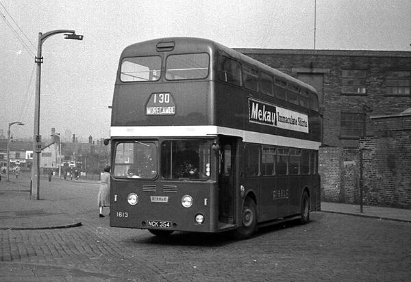 1959 Leyland Atlanteans delivered to Ribble. Delivered in November 1959 it had an M.C.C.W. H44-34F body