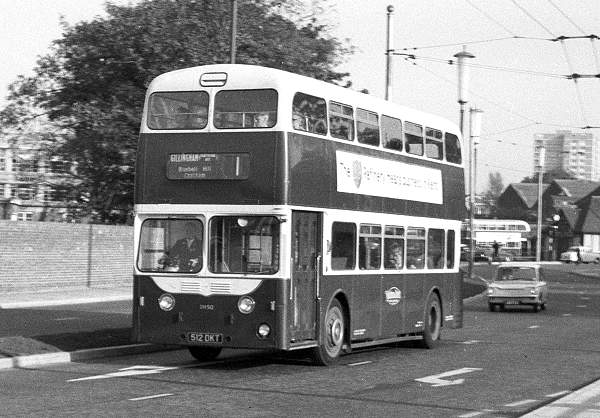 1959 Leyland Atlanteans with Metro-Cammell H78F bodies