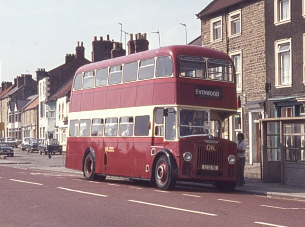 1959 Leyland Titan PD3-1 with Massey H41-31F bodywork
