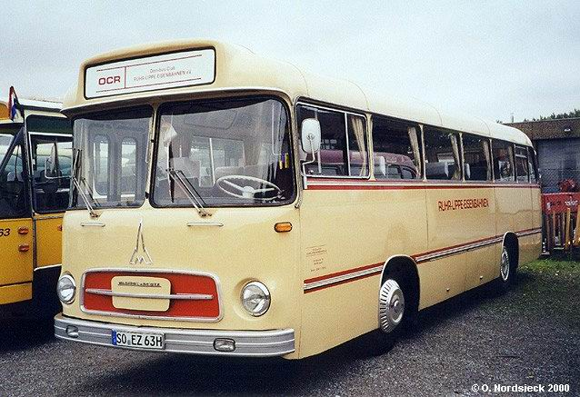 1959 Magirus Saturn II Linienbus Ruhr-Lippe-Eisenbahn