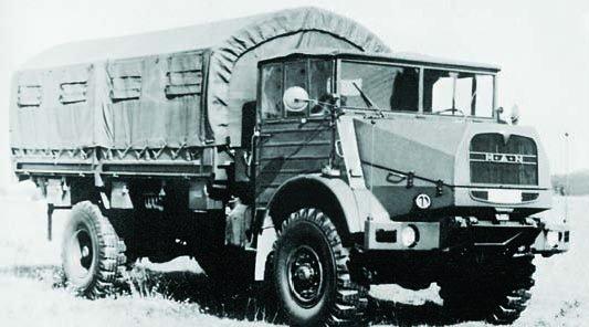 1959 MAN 670L3AE, 4x4