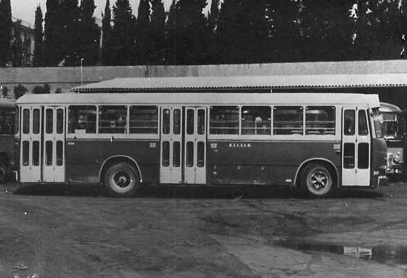 1960 Bussing TU.11 Macchi  stefer bus 317