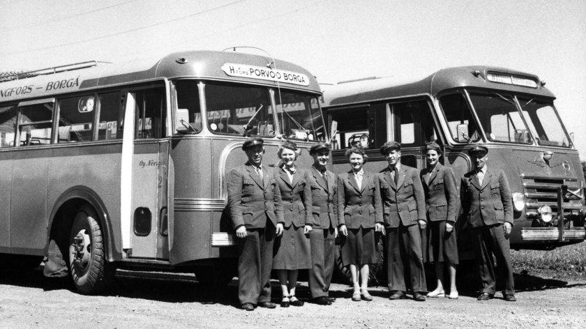1960. Kuva Kalle Kultalavanha linjaauto - kopie