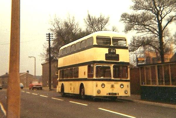 1960 Leyland Atlantean PDR1-1 with MCW body