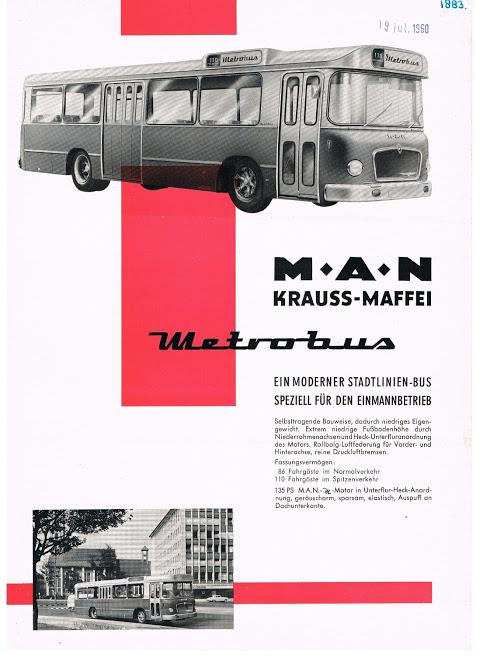 1960 MAN Metrobus+Krauss-Maffei