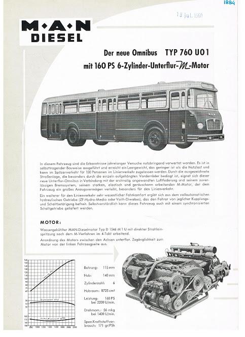 1960 MAN Type 760 UO1