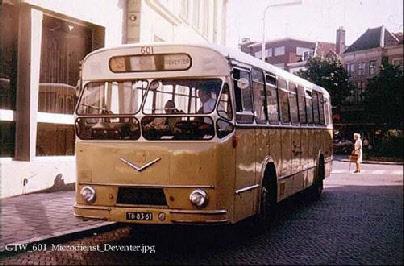 1960 MAN VB10 MAN D1546M1U 153pk carr verheul GTW601