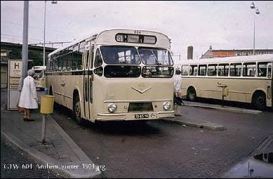 1960 MAN VB10 MAN D1546M1U 153pk carr verheul GTW604