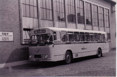 1960 MAN VB10 MAN D1546M1U 153pk carr verheul GTW609
