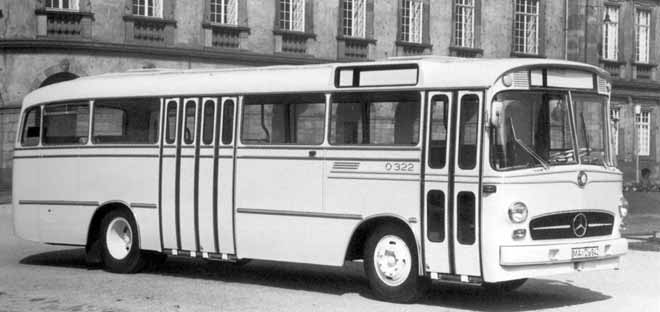 1960 Mercedes-Benz O-322