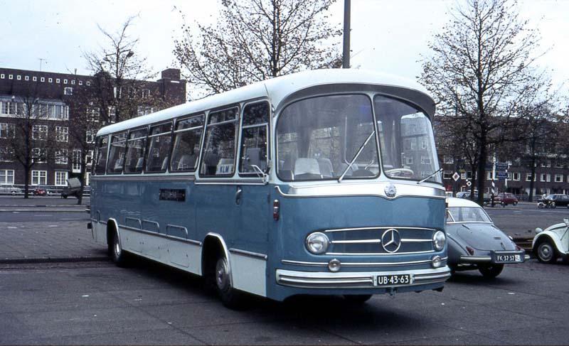 1960 Mercedes Benz O302