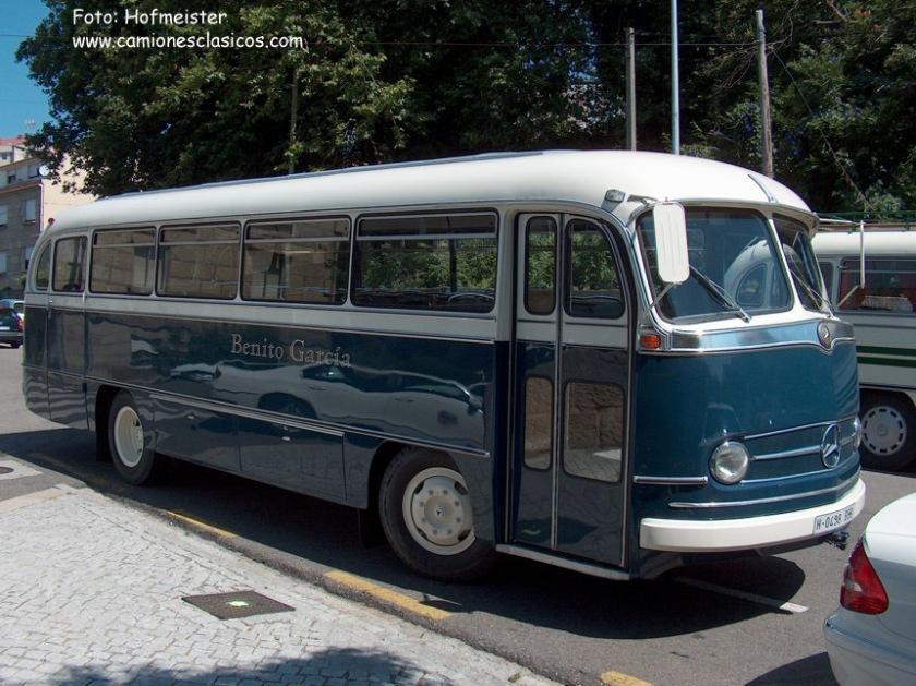 1960 Mercedes Benz O321-H Spanje