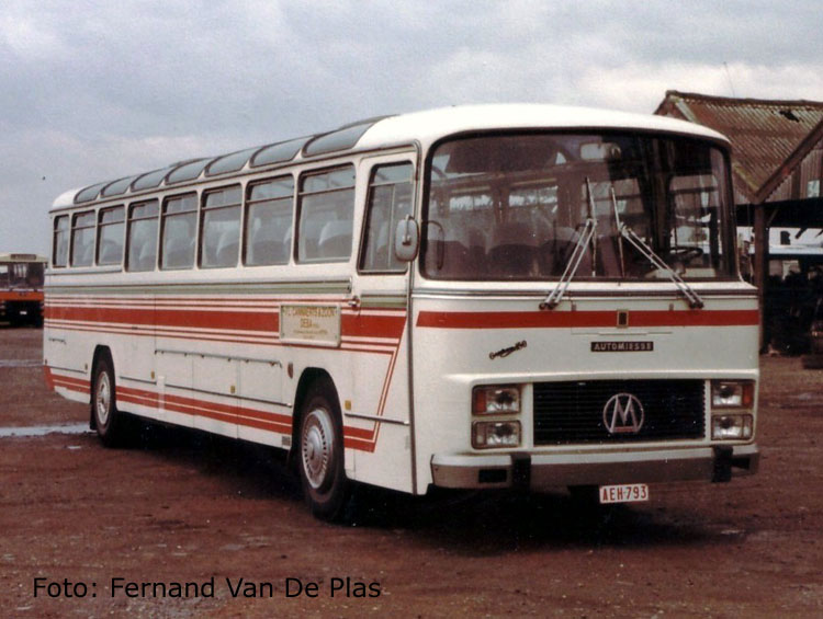 1960 Miesse Desot 1982 VanHool B