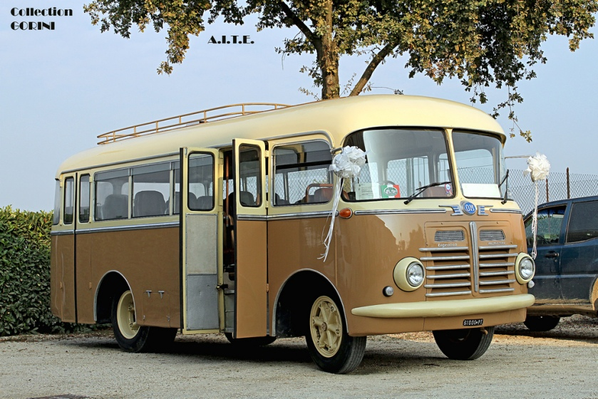 1960 OM TIGROTTO year carrozzeria Menarini c.c.4941