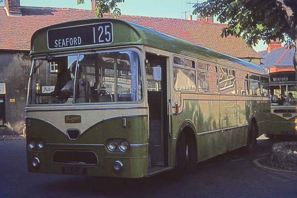 1961 Leyland Leopard PSU3-1R's - 116 having a Marshall B51F body