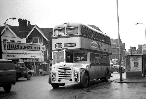 1961 Leyland PD3A-1 with Metro Cammell H41-33R body