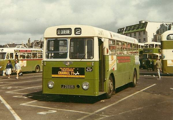 1961 Leyland Tiger Cub PSUC1-5 with Massey B40F body