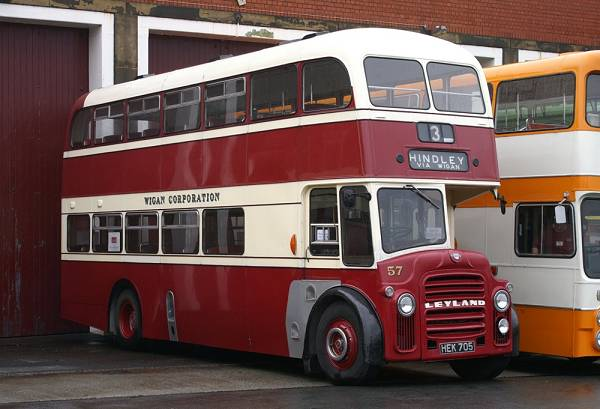 1961 Leyland Titan PD3A-2 with Massey bodywork