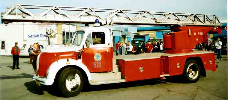 1961 Magirus Fire Engine