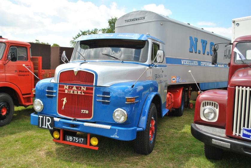 1961 MAN 770 L1  UB-75-17