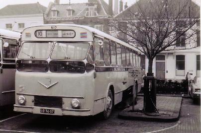 1961 MAN VB10 MAN D1546M1U 153pk carr verheul GTW617