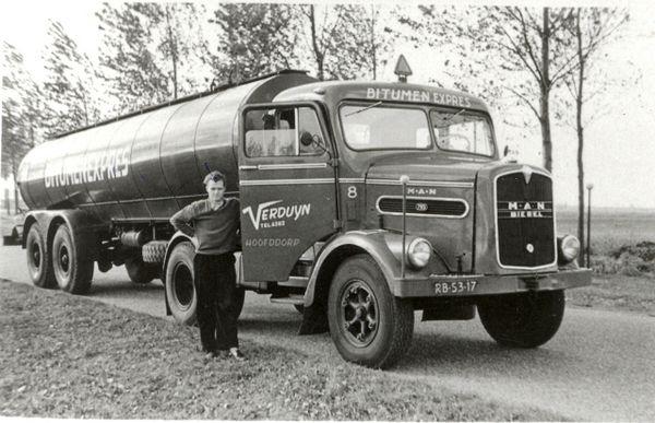 1961 MAN Verduyn Hoofddorp