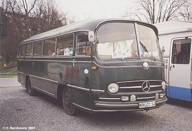 1961 Mercedes Benz O 321 H Reise-Überlandbus