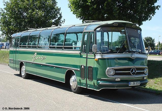 1961 Mercedes Benz O 321 HL Reisebus (Steib-Aufbau) DB