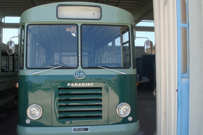 1961 OM Menarini Bus
