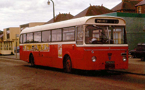 1962 Clynnog & Trefor 774NJO, a 1962 AEC Reliance with Marshall B53F body