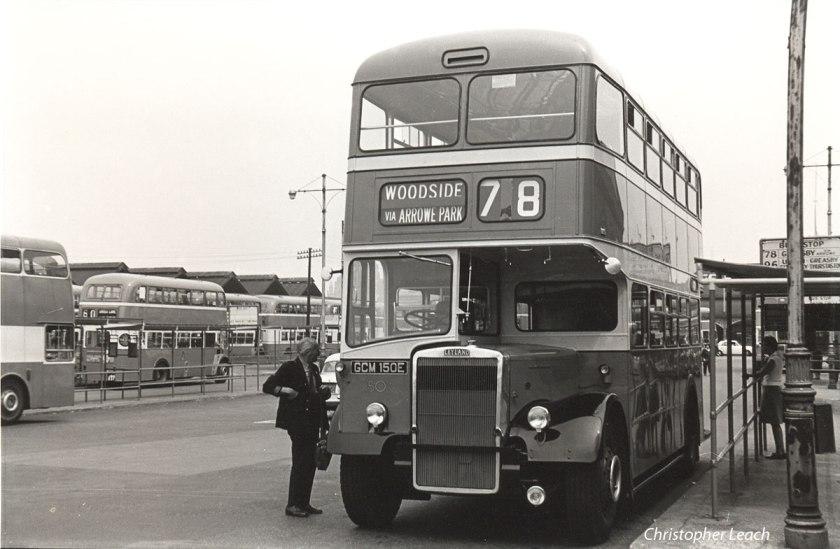 1962 Leyland Massey GCM-150E.Birkenhead