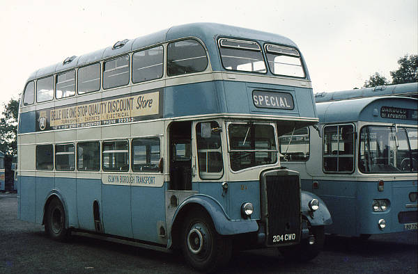 1962 Leyland PD2-40s with Massey L27-28RD