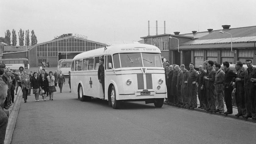 1962 Leyland Tiger Verheul (NB-45-24), Maarse & Kroon, Aalsmeer 1962