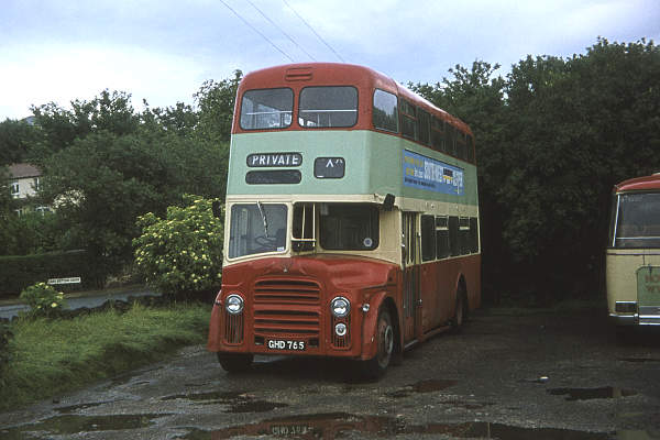 1962 Leyland Titan PD3A-1 with Metro Cammell H39-31F body