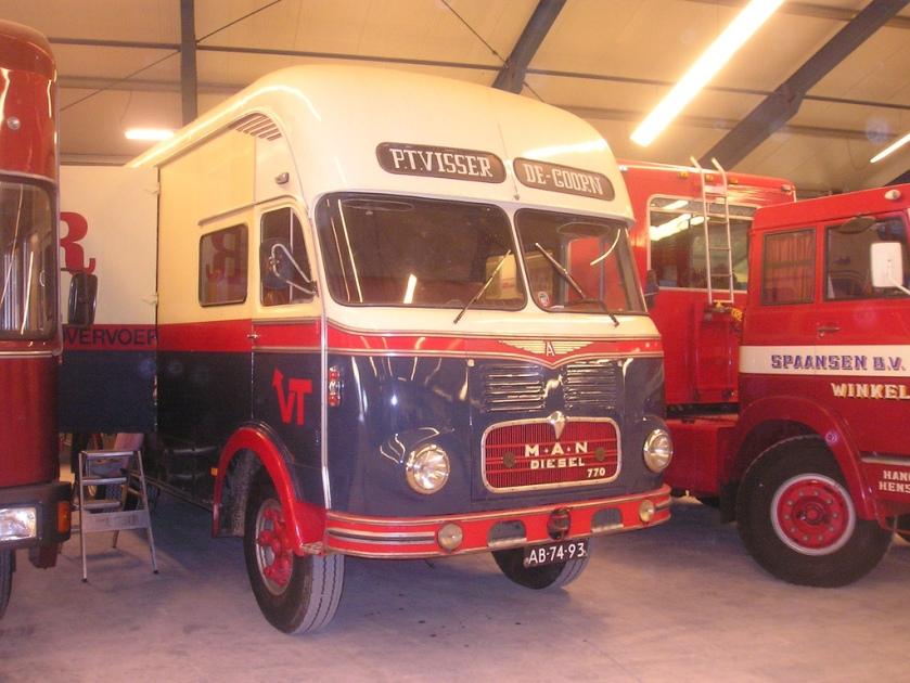 1962 Man Diesel 770
