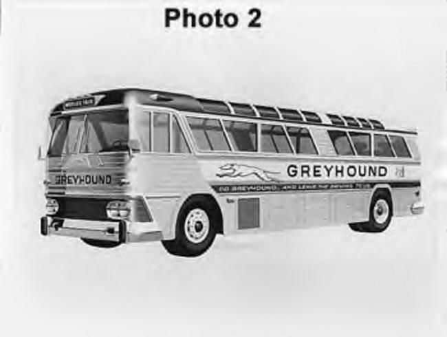 1962 MCI-5 Greyhound Bus